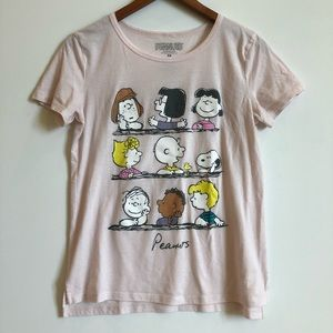 Peanuts graphic t shirt